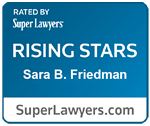 Sara B Friedman Rising Star