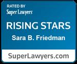 Sara B Friedman Rising Star